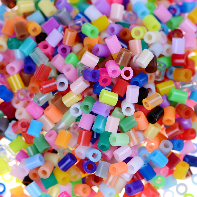 1000pcs/Set DIY 2.6mm Mixed Colours HAMA/PERLER Beads for GREAT Kids Fun Craft