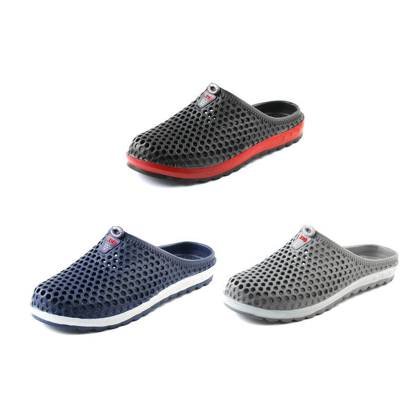 Breathable Slippers Hollow-out Beach Sandals Garden Hole Shoes