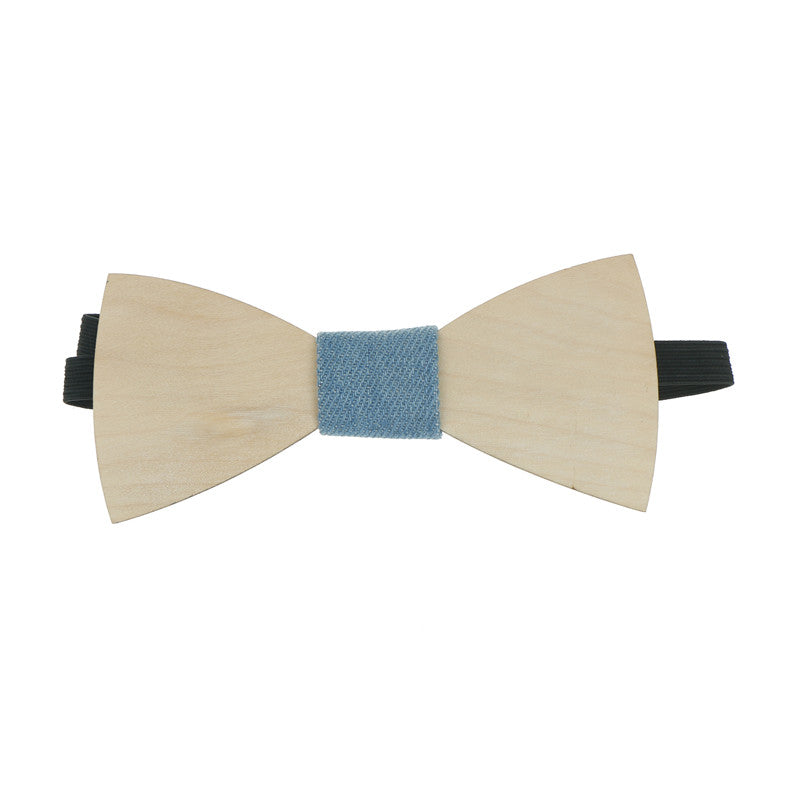 Simple Men's Suit Wooden Bow Tie Groom Wedding Party Men Formal Wear Bow tie
