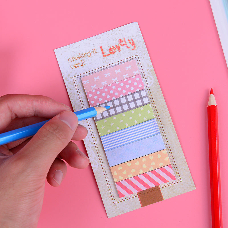 160 Pages Cute Sticker Bookmark Marker Flags Sticky Notes Hot
