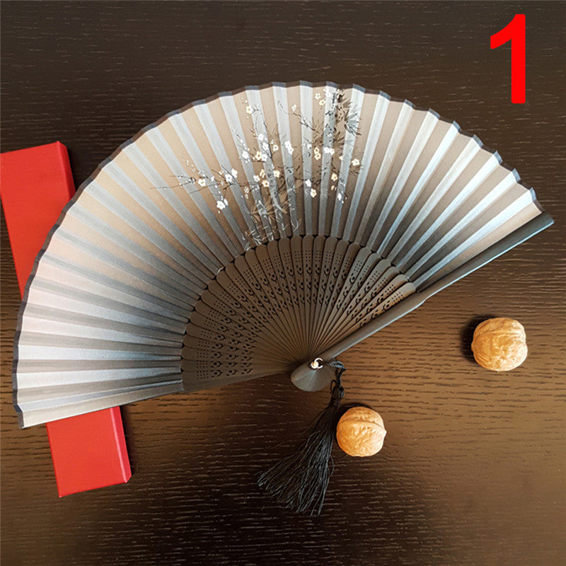 Fashion Antique Folding Female Fan Classical Mixed Decoration Home Furnishing Hot