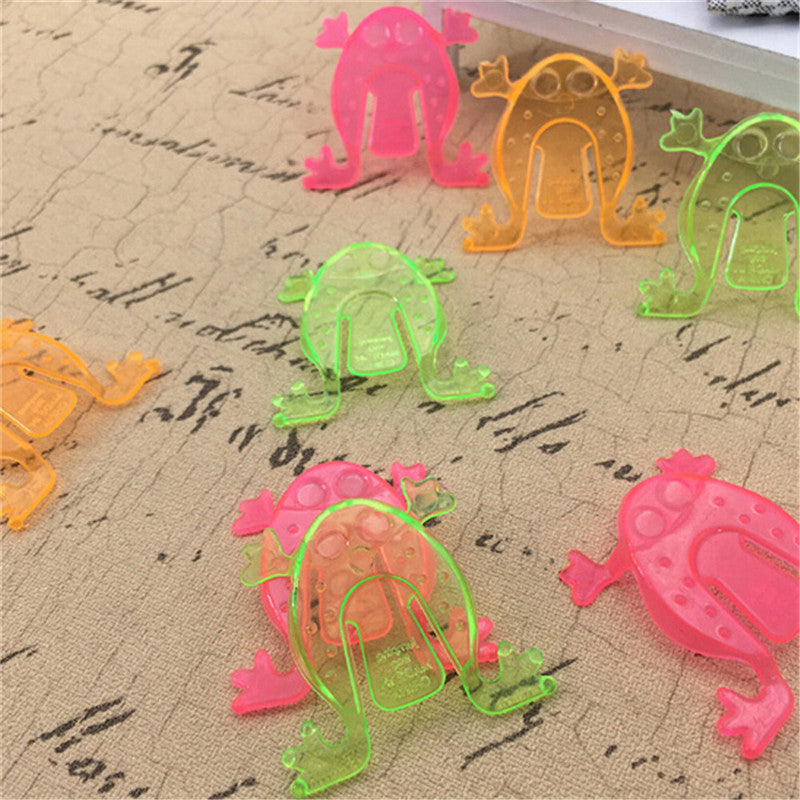 10PCS Jumping Frog Hoppers Game Kids Party Favor Kids Birthday Party Toys