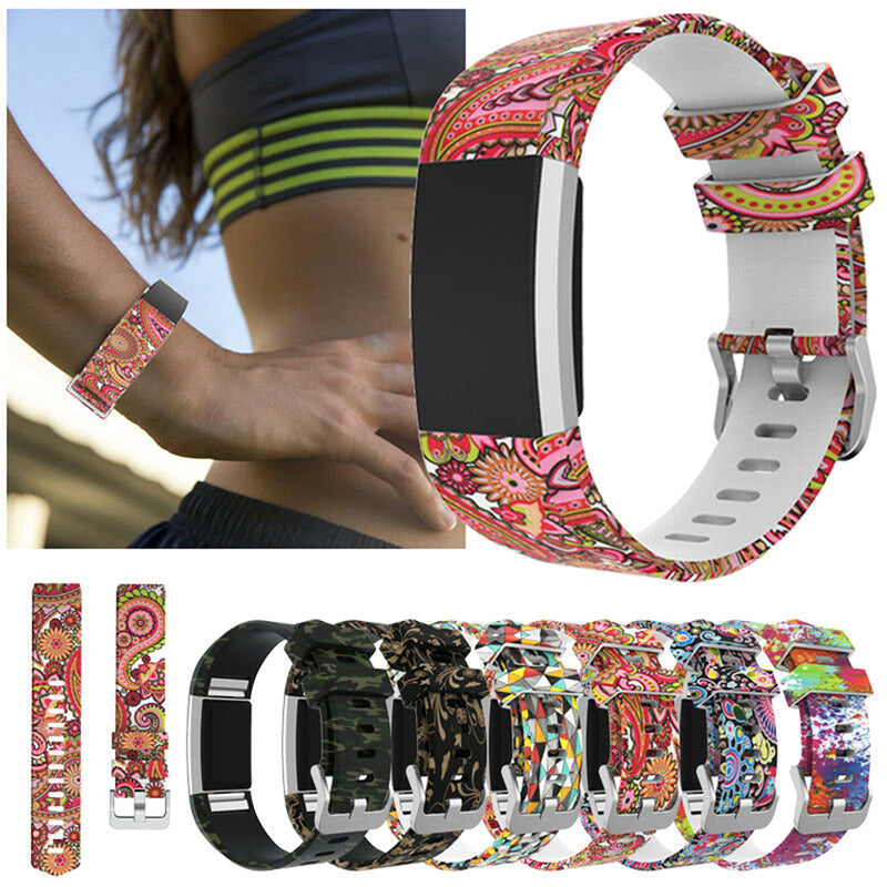 Sport For Fitbit Charge 2 /2HR Replacement Smart Watch Strap Bracelet Wrist Band