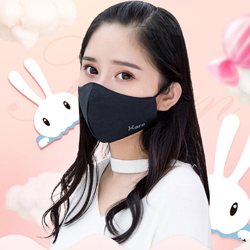 Unisex Face Mouth Mask Cotton Fabric Anti Dust Pollution Masks Keep Warm Mask