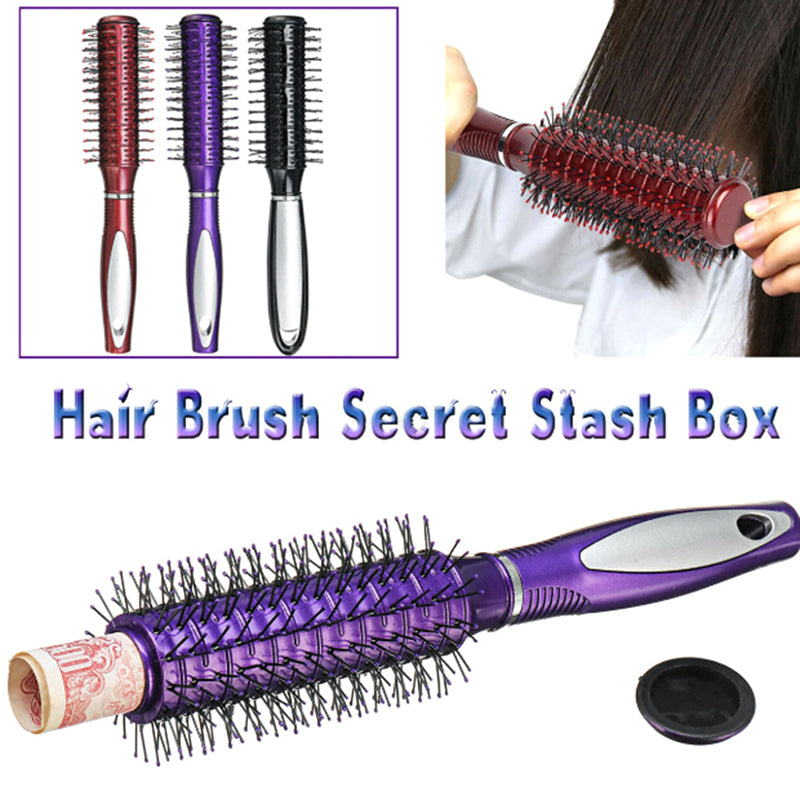 Real Hair Brush Stash Safe Hidden Secret Box Money Jewelry Hider Diversion Can