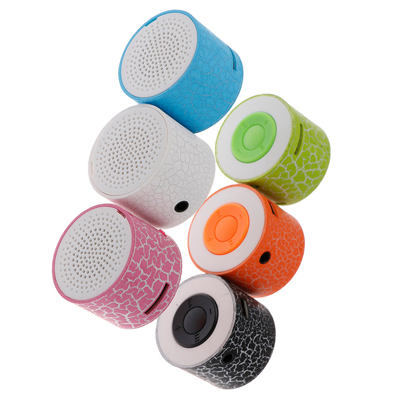 MINI LED Portable MP3 Speaker TF USB Music Sound Subwoofer Wireless
