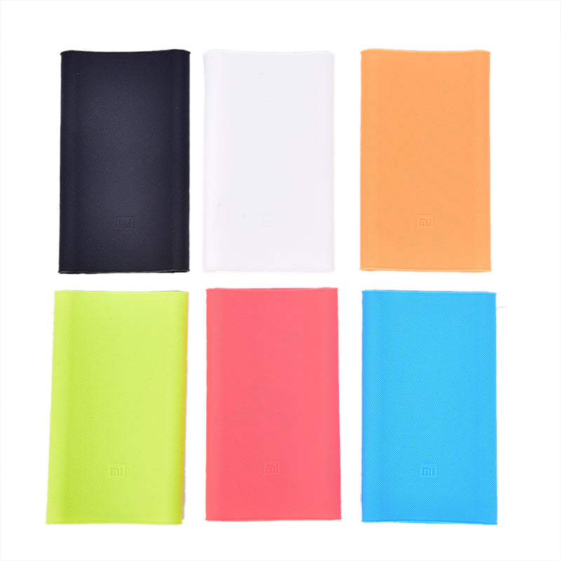 Slim Power Bank Antislip Silicone Case Cover For Xiaomi Power Bank 2 10000mAh