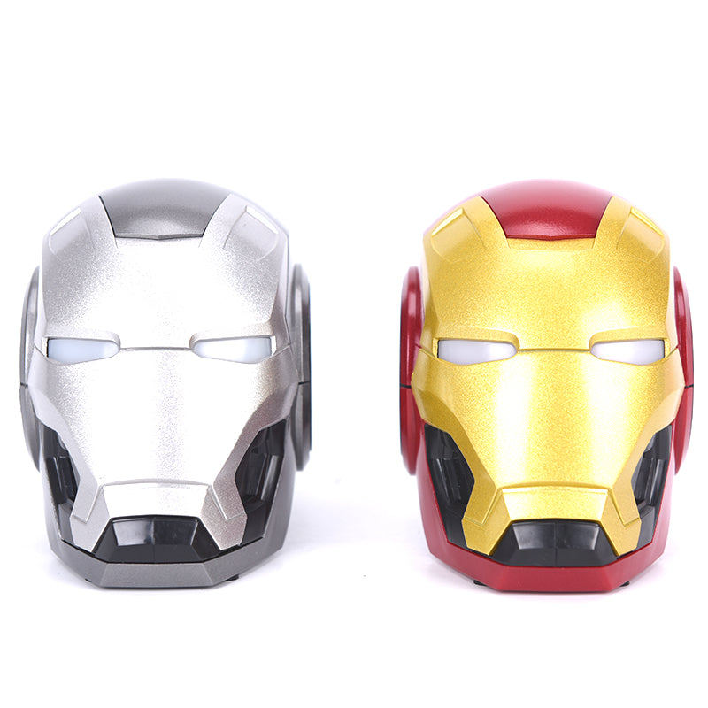 Iron Man Graffiti Portable Bluetooth Speaker Mini Wireless Outdoor Subwoofe