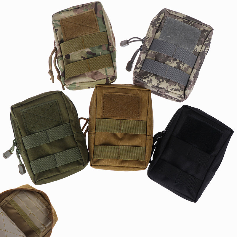 EDC Life Bag Springs Hinge Durable Pouches Multifunctional Outdoor Tool Pouch