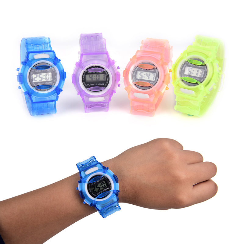 Fashion Child Kids Boys Girls LED Watch Students Digital Sport Wrist Watches new