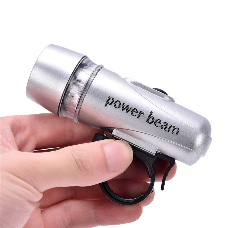 5LEDs POWER BEAM FRONT BIKE BICYCLE HEAD LIGHT TORCH LAMP new