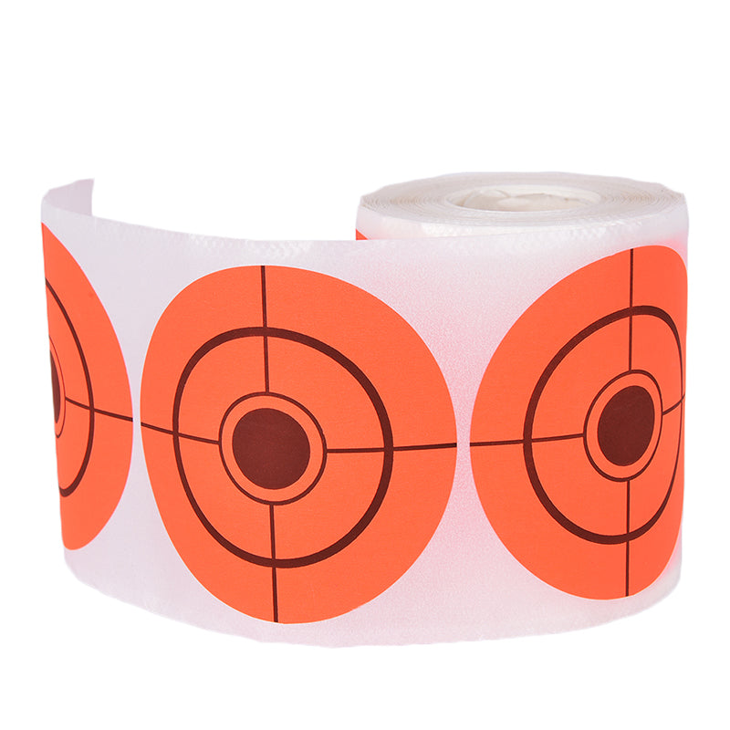 250Pcs Diameter 7.5cm Self adhesive Target Stickers Target Paper For Shooting