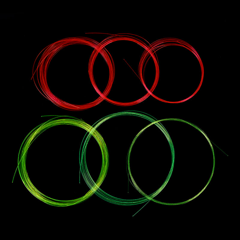 5m Fiber Optic Bow Sight Replacement Pins Compound Bow Slingshot Hunting Fiber