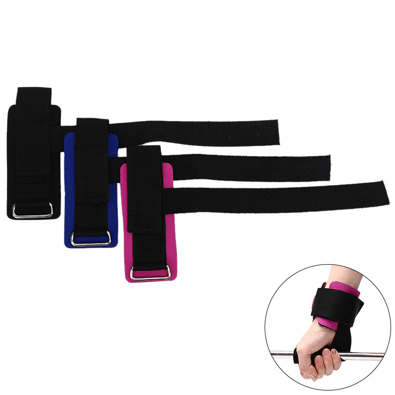 Sport Weightlifting Strap Gym Power Training Powerlifting Wristbands Belt Straps