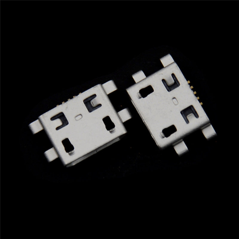 20pcs Micro USB 5pin B Type Female Connector Jack Charging Socket