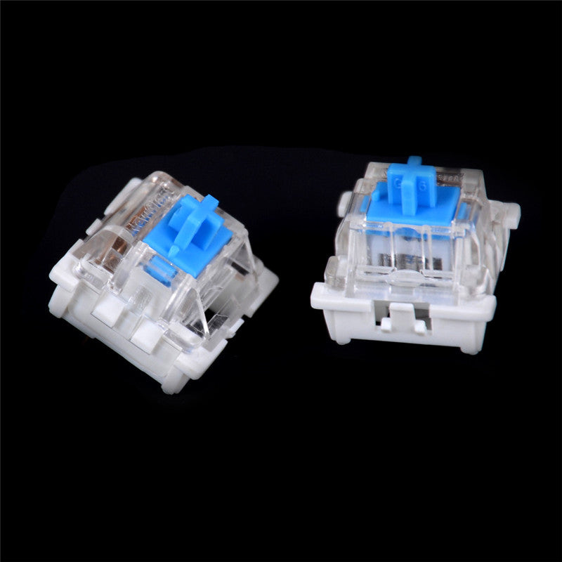 10pcs Mechanical Keyboard Switch Blue for Cherry MX Keyboard Tester Parts