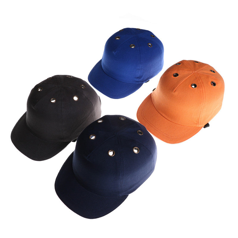 Work Safety Bump Cap Helmet Baseball Hat Style Protective Head Safety Hard Hat