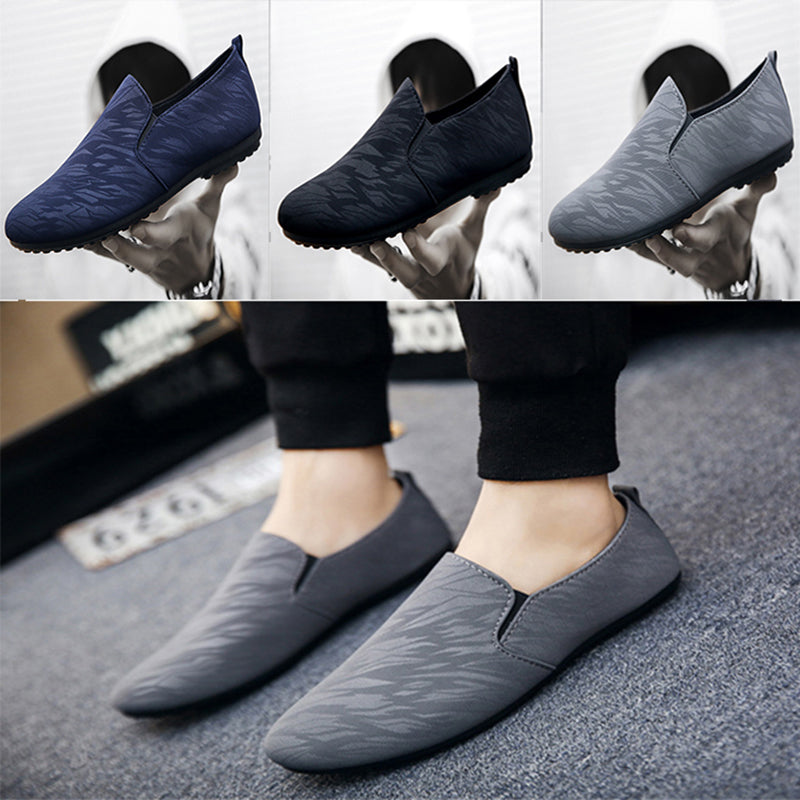 Canvas shoes Fashion Men's Shoes Slip-on Breathable Casual Shoes
