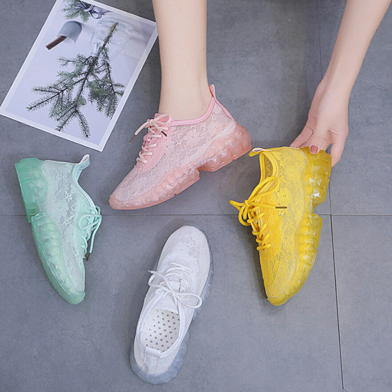Women's shoes Plus-size sport sneakers casual fashion breathable dad shoes