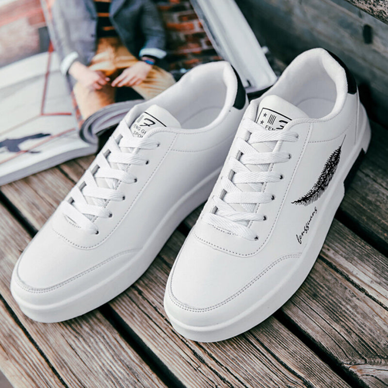 Men's sneaker breathable low top men's sports shoes small white shoes