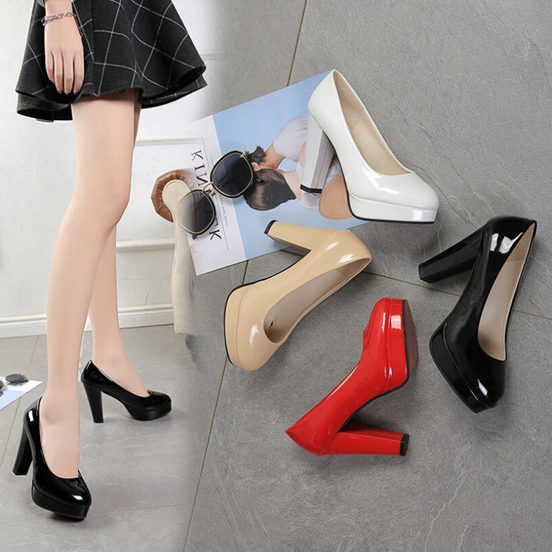 Waterproofing platform for high-heeled and thick-heeled Women's single shoes