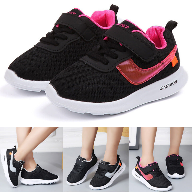 Light sneakers children's flying mesh running shoes men's and women's shoes