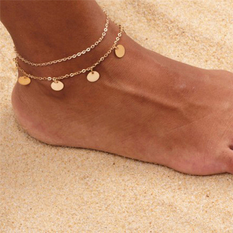 Simple Barefoot Sandal Beach Anklet Foot Chain Ankle Bracelet Women Jewelry