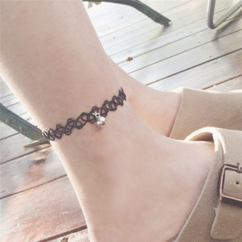 Bell Ankle Chain Anklet Bracelet Barefoot Sandal Beach Women Foot Jewelry