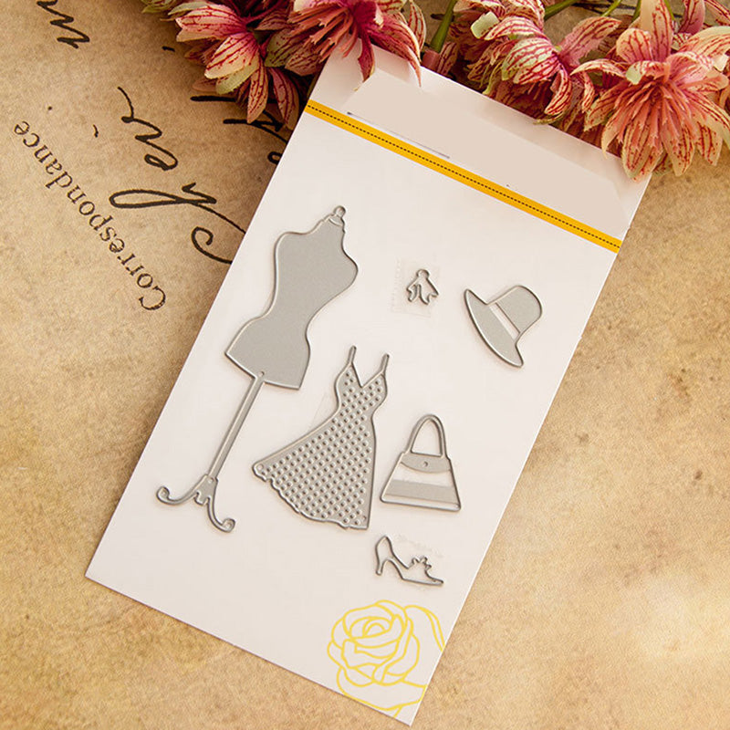 Clothes Hanger Cutting Dies Stencil DIY Cards Scrapbook Diary Gifts Crafts