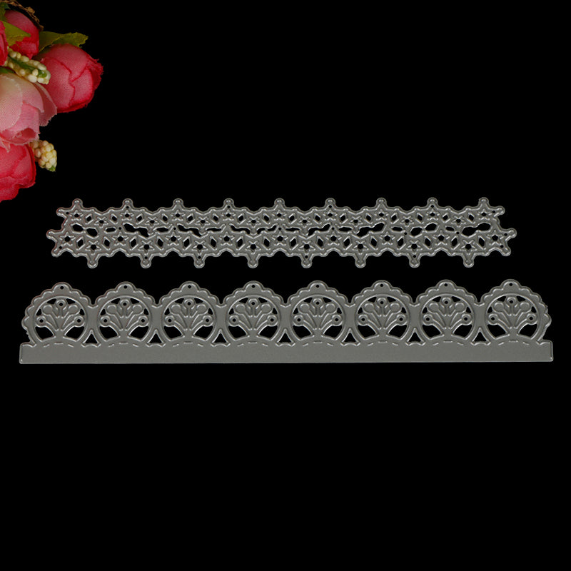 Lace Border Metal Cutting Dies Stencil Scrapbook Card Paper Embossing Craft DIY