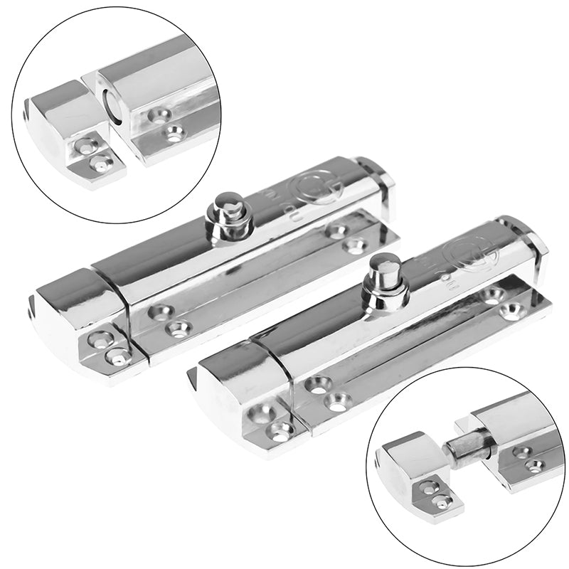 Home Door Security Guard Latch Bolt Gate Lock Stainless Steel Spring Loaded