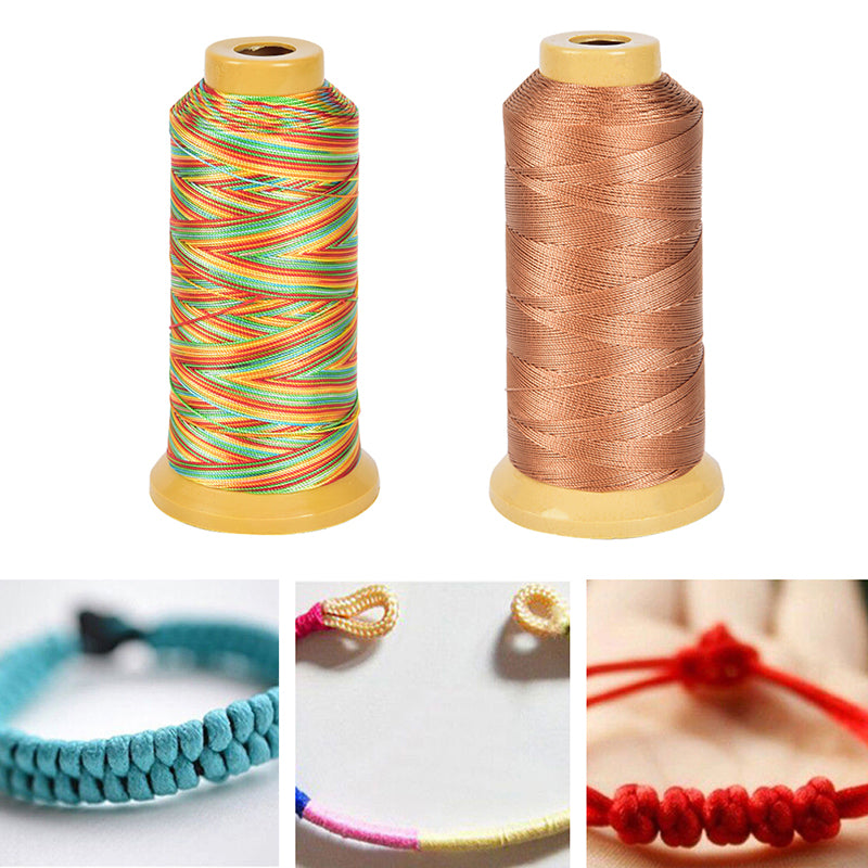 0.4mm 500m Nylon Cord Thread Rope Beading Braided String Cord DIY Jewelry Making