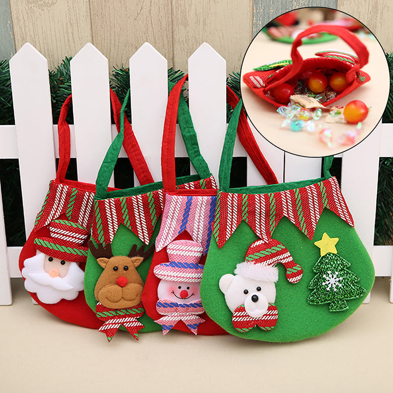 Christmas Gift Bag Candy Bag Merry Christmas Candy Bags Christmas Decor Fabrics
