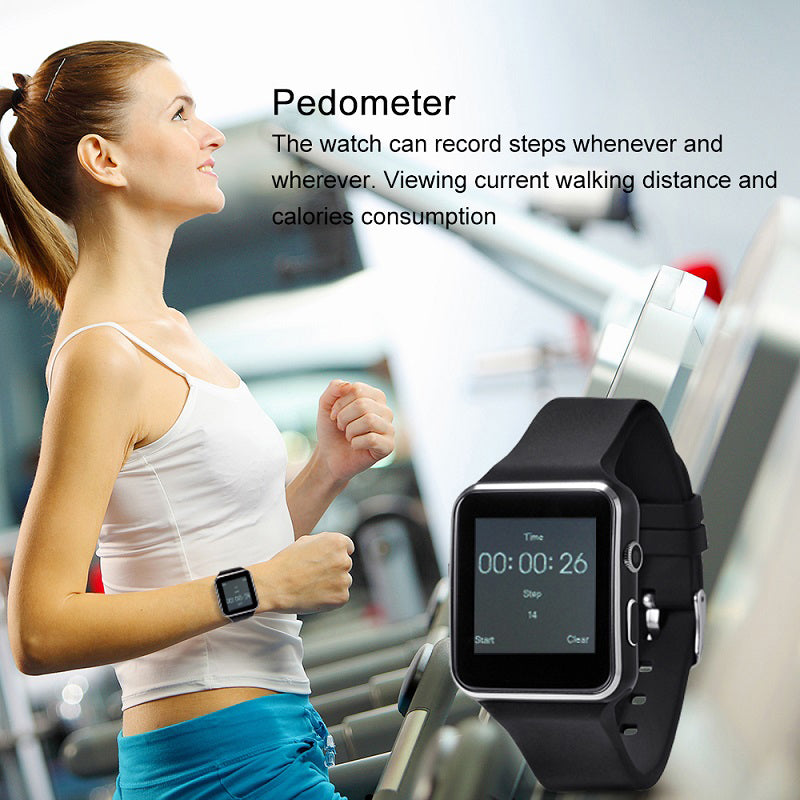 Bluetooth Watch with Camera GPRS Touch Screen Support SIM TFCard for IOS Android