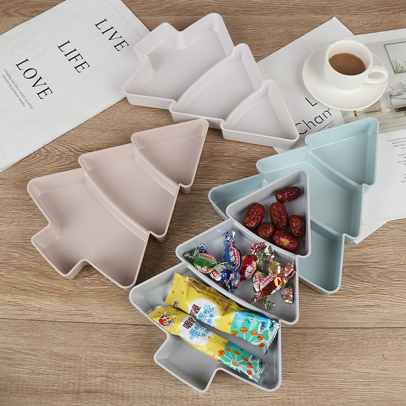Tree Shape Nuts Dry Fruits Storage Box Desk Organizer Case Dry Fruit Container