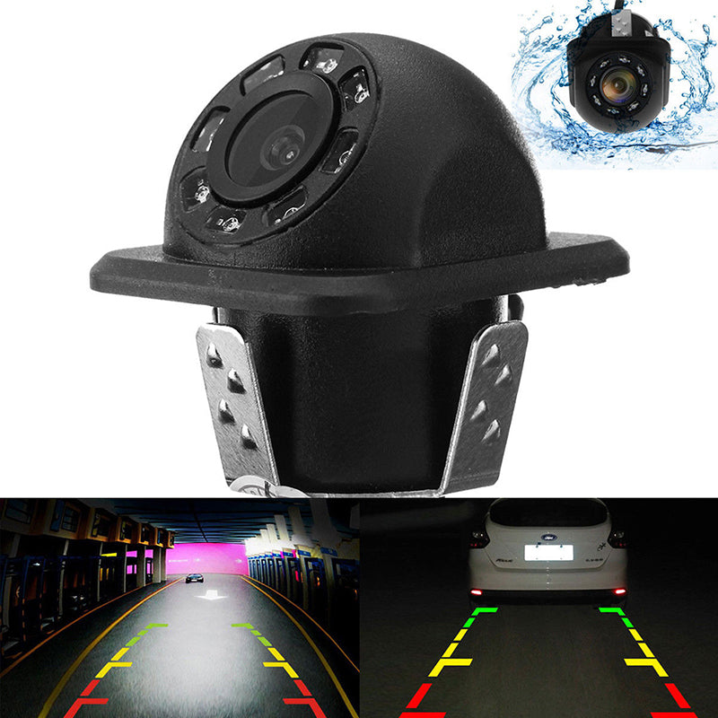 170° CMOS Car Rear View Backup Camera Reverse 8 LED Night Vision Waterproof Set
