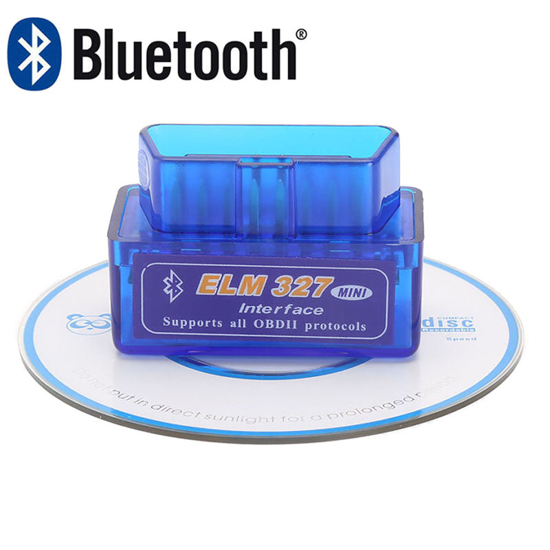 ELM327 V1.5 Bluetooth OBD2 For Android/Torque Super Diagnostic Code Reader