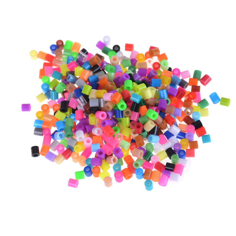 300Pcs/Bag 5mm Hama Beads Perler Beads Kids Education DIY Toys Mixed Color