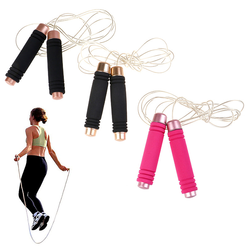 1PC Jump Rope Ultra-speed Ball Bearing Skipping Rope Steel Wire jumping rope