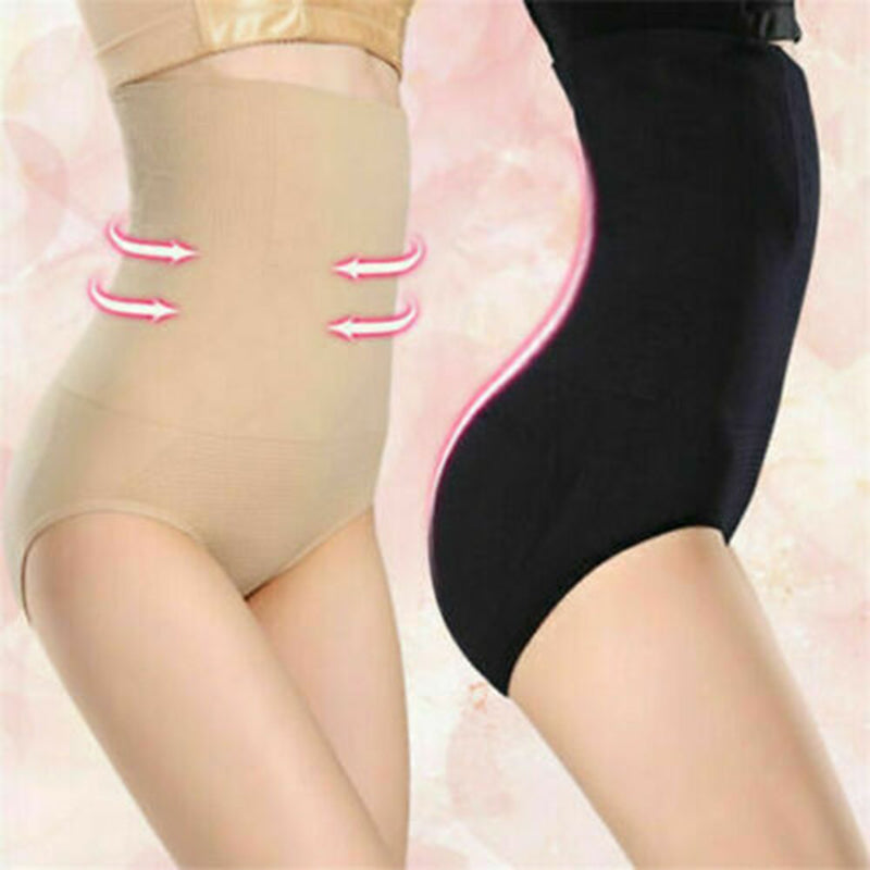 Women's Body Waist Shaper Shorts High-Waist Panties briefs Postpartum Slimming