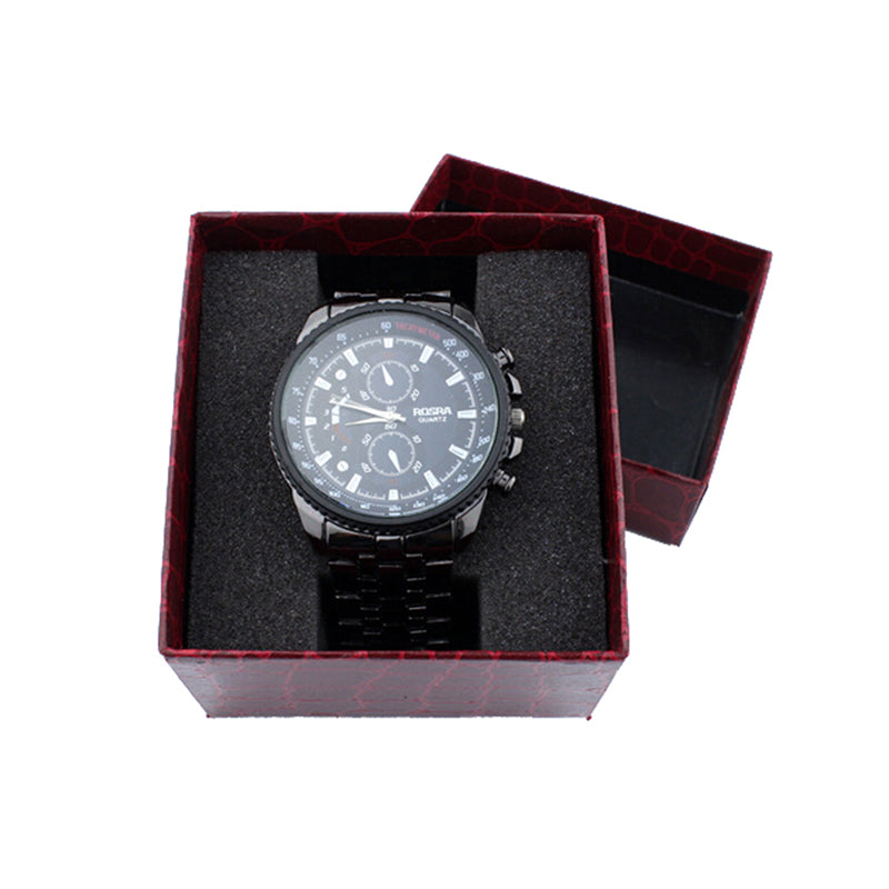 Crocodile Lines Noble Durable Present Gift Box Case For Bracelet Jewelry Watch
