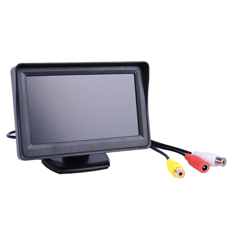 4.3 TFT LCD Monitor Car Rear View System Backup Reverse Camera Night Vision