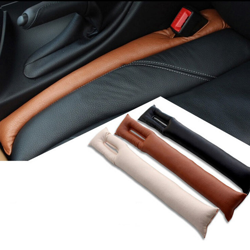 Universal Car PU Leather Holster Seat Pad Gap Spacer Filler Padding Leakproof