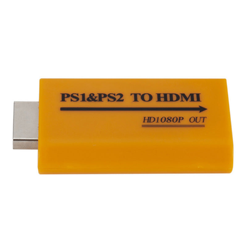 1080P HD PS1/PS2 To HDMI Audio Video Converter Adapter For HDTV Projector
