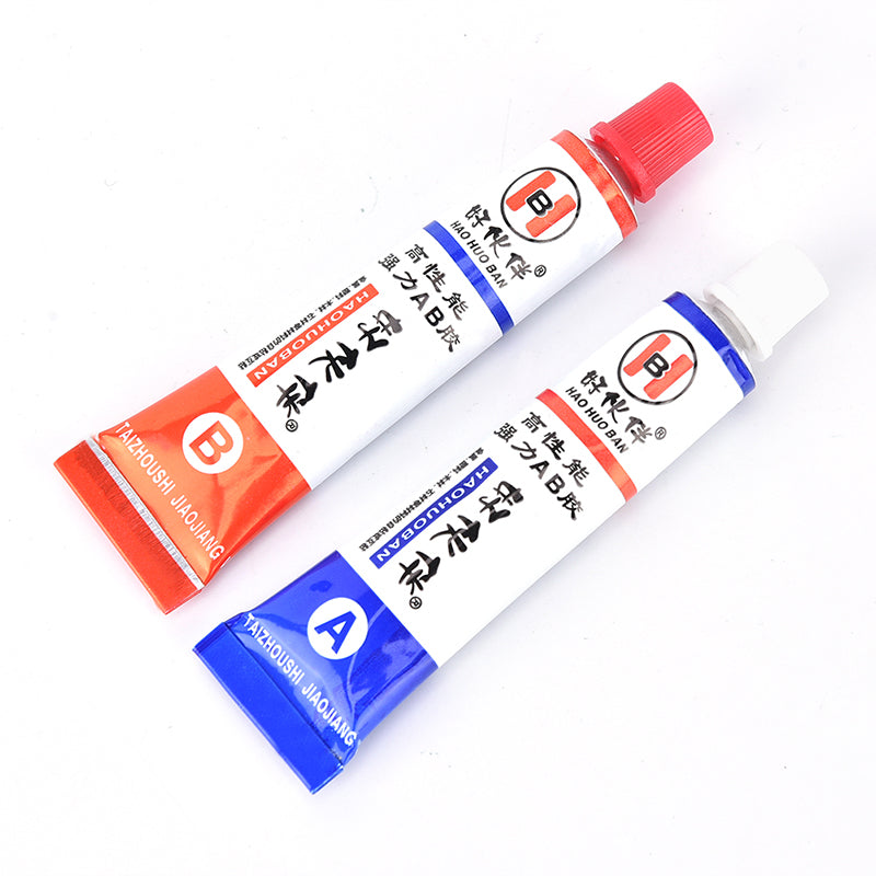 2pcs(A+B) Modified acrylic glue adhesive for metal plastic wood crystal glass
