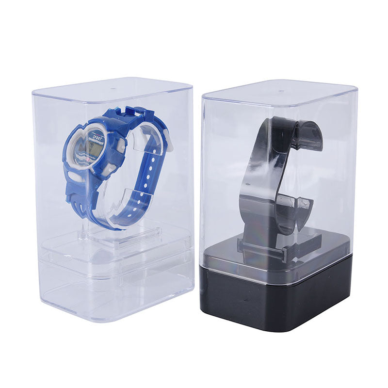 1x plastic watch display holder stand rack showcase tool stand case winder
