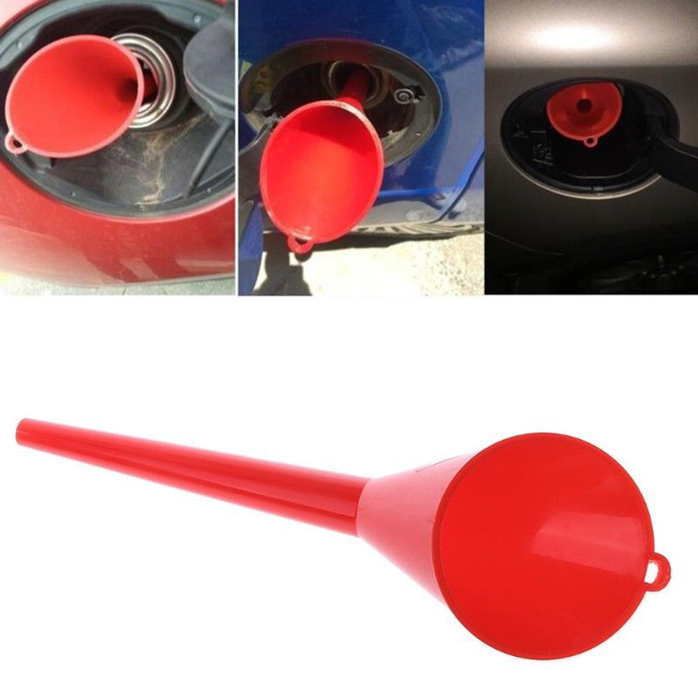Car Refueling Funnel Gasoline Engine Oil Additive Motorcycle Farm Machine Funnel