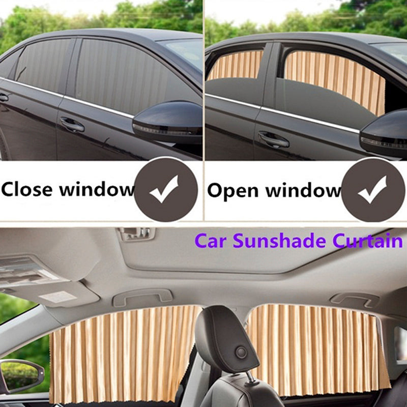 Universal Sunshade UV Sunshade Magnetic installation Visor Window Car Curtain