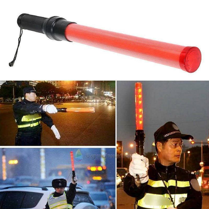 Signal LED Traffic Safety Wand Baton Road Control Warning Light Traffic Control