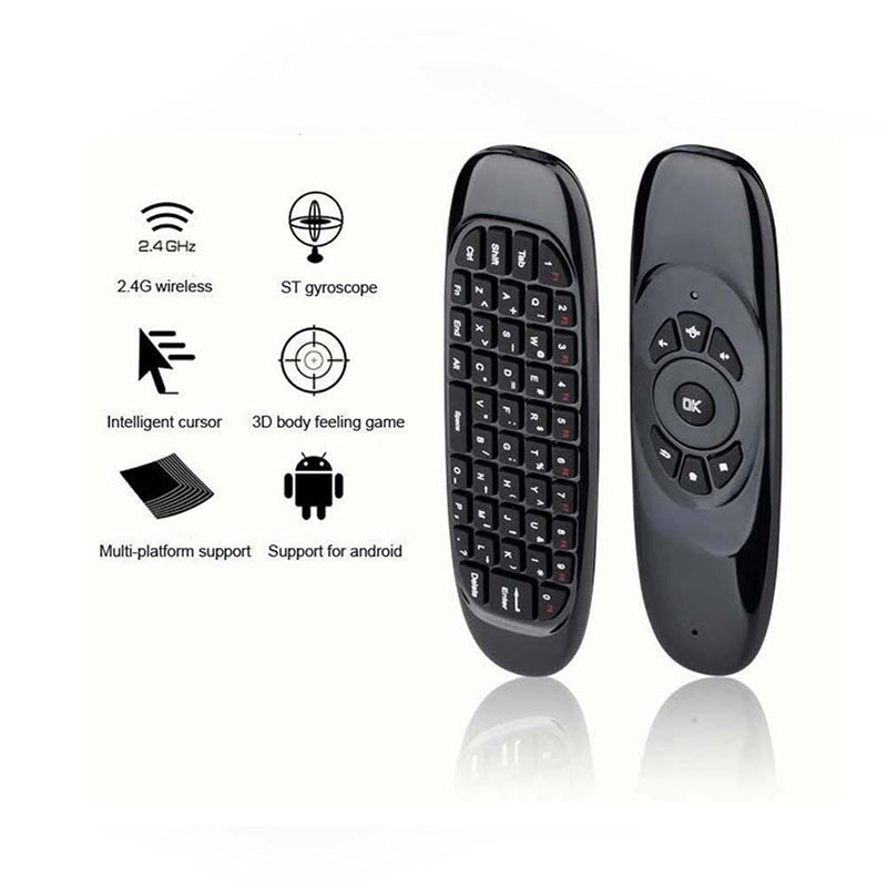 2.4G-Wireless Remote Control Air Mouse Keyboard For Android TV Box Kodi Mini PC